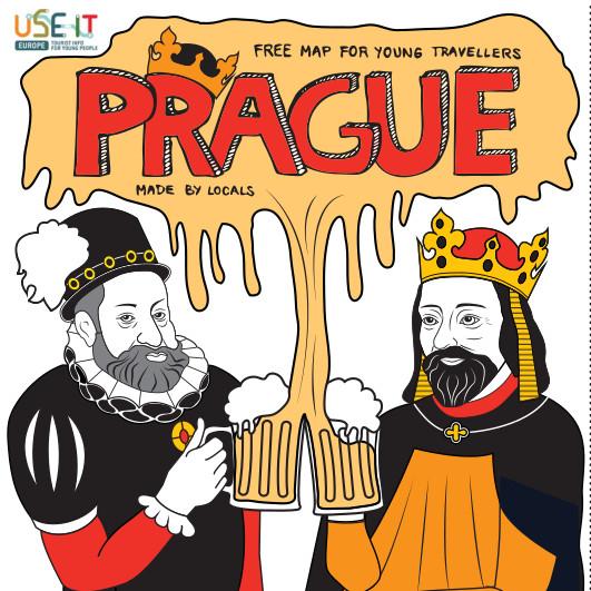 Mapa Prahy 2013