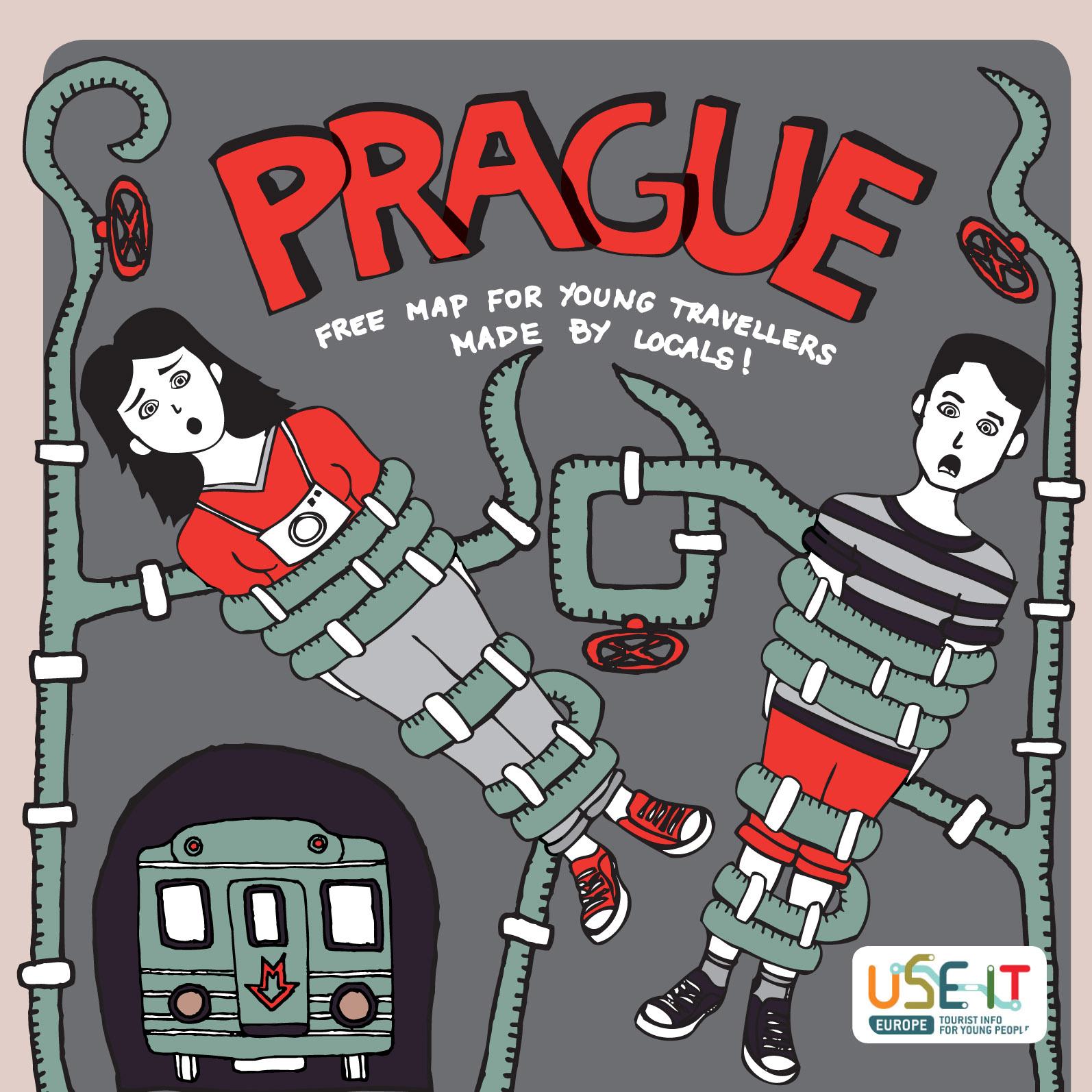 Mapa Prahy 2014