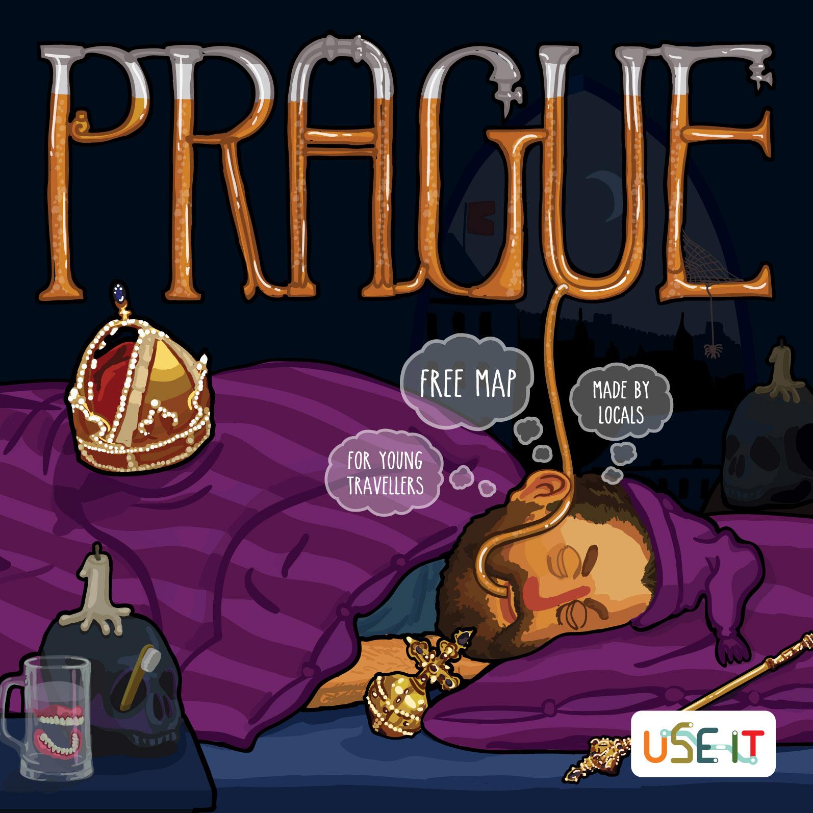 Mapa Prahy 2016
