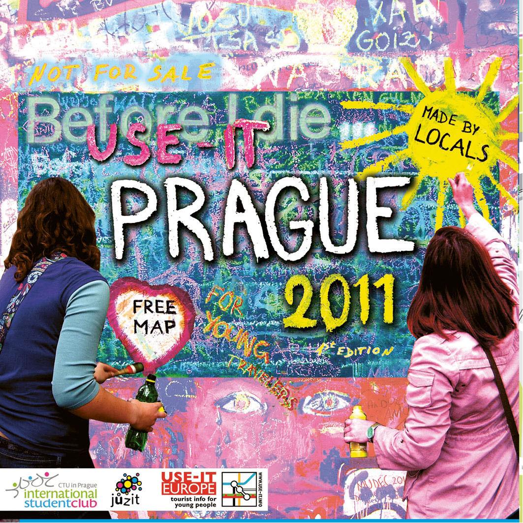 Mapa Prahy 2011